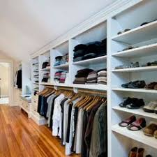 Small Picture slanted wall closet ideas put up a wall in the middle of the