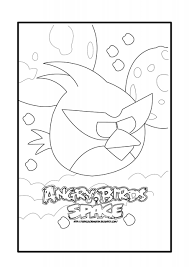 angry bird space coloring pages - 28 images - angry birds space ...