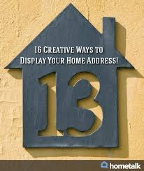 House Number Ideas :: Alderberry Hill's clipboard on Hometalk Idea Box by  Alderberry Hill