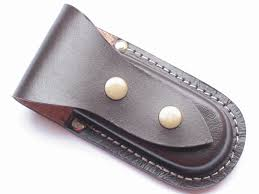 leather knife pouch