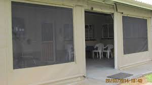 fixed canvas panels cafe blinds mesh screen and solar hybrid blinds
