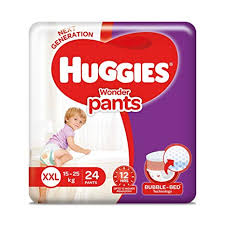 Huggies Wonder Pants Diapers Double Extra Large Pack Of 24