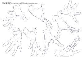 手のイラスト資料集 Hand Reference Hato King Drawing Tips2019