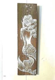 wooden mermaid wall decor luxury inspirational wood high hanging m art wooden mermaid wall art