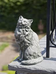 cat garden statue. Tanner The Cat Garden Statue