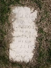 "Mary Elizabeth ""Polly"" Bradley Shrode (1812-1848) - Find A Grave Memorial"