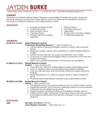 Creative Marketing Resume Best Market Researcher Resume Example Livecareer