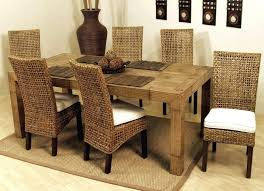 dining room modern interesting rattan dining table all room of base from lovely rattan dining