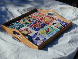 Large mosaic tray kit for up to 9 artists