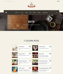 restaurant table layout templates responsive restaurant cafe bar joomla template ja restaurant