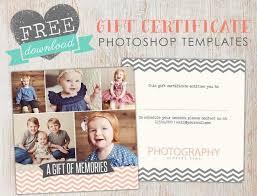 Free Gift Certificate Template Photoshop Birdesign