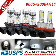 LED Lights <b>9005 9006 H11 Combo</b> CREE LED Headlight Fog Kits ...