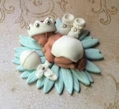 Baby Bootie Cupcake Toppers Jerusalem House
