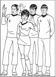 Small Picture Star Trek Group Coloring Pages For Kids gue Printable Star Trek