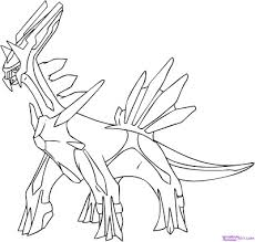 Small Picture pokemon coloring pages dialga 6 pics of pokemon palkia coloring