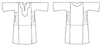 Robe Sewing Pattern Magnificent Folkwear 48 Egyptian Shirt Egypt Galabia Robe Jellabiya Sewing