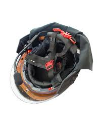 f15 structural firefighting helmet inside