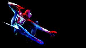 spider man ps4 game art 4k wallpaper 3840x2160