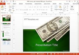 Free Money Ppt Templates Free Money Powerpoint Templates
