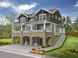 raised house plans. Raised Craftsman Style House Has Many Levels Of Living Plans O