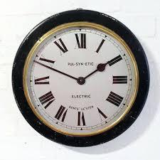 large vintage clock
