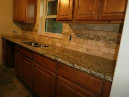 Granite Countertops And Backsplash Pictures Extraordinary Granite Countertops And Tile Backsplash Ideas Ronanforcongress