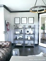 rustic modern office. Glamorous Industrial Office Shelves Design Modern Rustic Home Furniture C