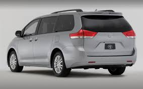2013 Toyota Sienna Drops Four-Cylinder, Adds Blind Spot Monitor on ...