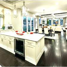 Kitchen Floor Design Ideas Impressive Kitchen Living Kitchen And Living Room Together Open Kitchen And