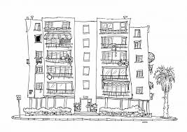 architecture building drawing. Architecture Apartment Building Drawing Design Working Drawi U