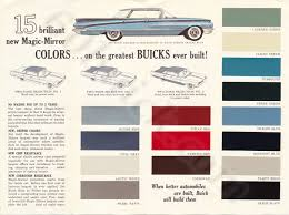 60 Is The Year For Color In Buick Brochure 60buick Com