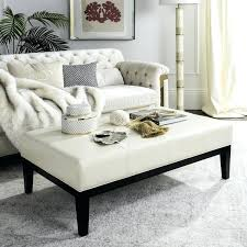 safavieh coffee table amazing cream leather cocktail ottoman free in coffee table plans safavieh wesley