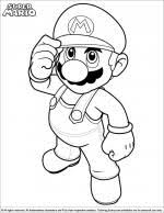 Super Mario Printable Coloring Pages To Print Chronicles Network