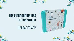 The Extraordinaires Design Studio The Extraordinaires Design Studio Uploader App