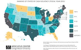 State Fiscal Condition Ranking The 50 States Mercatus Center
