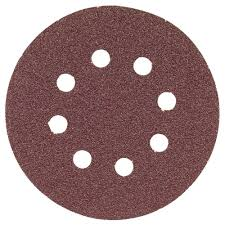 5 grit sandpaper. bosch 5 in. 8-hole red 60-grit hook and loop sanding disc grit sandpaper h