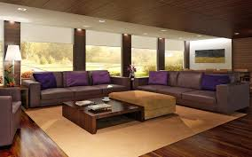 Modern Living Room With Brown Leather Sofa Living Room Awesome Modern Living Room Sets Modern Small Living