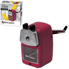 <b>Точилка механическая Brauberg Red</b> Power, 222099 - купить в ...