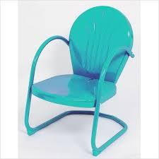 retro metal outdoor furniture. Wonderful Furniture Amazoncom Turquoise Retro Metal Lawn Chair Furniture Patio U0026 Garden On Outdoor Furniture I