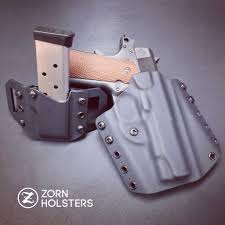 1911 Kydex Magazine Holders 100 Trojan Concealment holster and Single magazine pouch combo 60