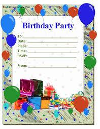 microsoft word birthday party invitation template ctsfashion com invitations in word birthday invite template word birthday