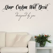 Small Picture Wall Decal Inspiration Custom Wall Decals Creator Wallumscom