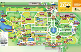brookfield zoo map. Contemporary Zoo For Brookfield Zoo Map L