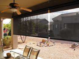 bali tropic solar roller shades allows the inclusion of that jungle green house look in a