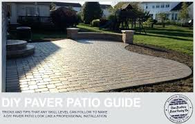 amazing paver patio installation steps patio covers marvelous paver patio installation steps