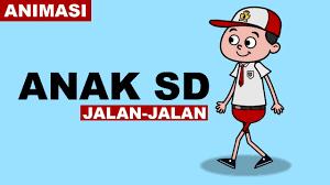 Yuk cobain aplikasi pembuat animasi mulai dari yang simple sampai yang profesional berikut. Animasi Anak Sd Jalan Jalan Walk Cycle Indonesia Youtube