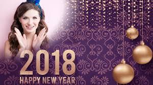 happy new year photo frame 2018 photo editor