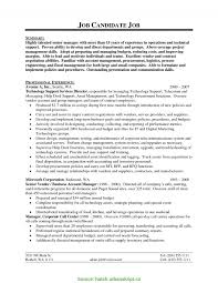 Good Tech Support Manager Resume Support Manager Resumes Hatch