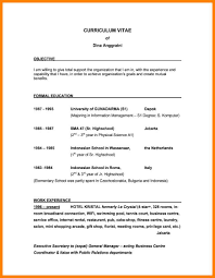 9 Good Resume Objective Statement Formatting Letter