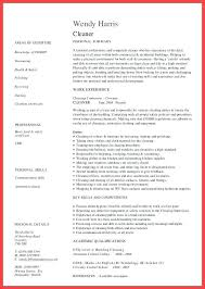 House Cleaner Resume Sample Ideas Of House Cleaning Resume